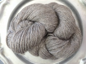 Our very own Finnsheep/Mohair blend yarn